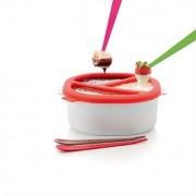 Lekue Choco Fondue en silicone au micro-ondes Lekue