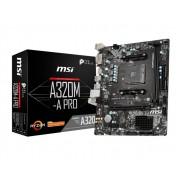 MB, MSI A320M-A PRO /AMD A320/ AM4 (911-7C51-001)