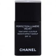 Chanel Perfection Lumiére Velvet maquillaje efecto piel seda de acabado mate tono 10 Beige SPF 15 30 ml