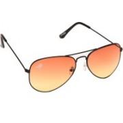 Eddy's Eyewear Aviator Sunglasses(Orange)
