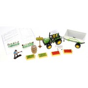 PowerTRC Greenhouse Farming Playset With Tractor