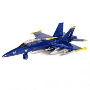 "X-Planes Air Force: 9"" F-18 Hornet Blue Angel"