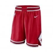 Short de NBA Chicago Bulls Nike Icon Edition Swingman pour Homme - Rouge