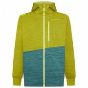 La Sportiva - Training Day Hoody - Sweat à capuche taille XL, jaune/turquoise