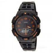Casio AQ-S800W-1B2VDF resistente reloj deportivo solar - negro + naranja (sin caja)