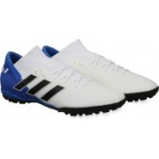 ADIDAS NEMEZIZ MESSI TANGO 18.3 TF Football Shoes For Men(White)