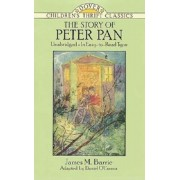 The Story of Peter Pan: Unabridged in Easy-To-Read Type, Paperback