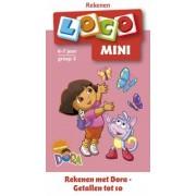Boosterbox Mini Loco - Rekenen met Dora: Getallen tot 10 (6-7 jaar)