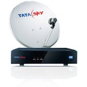 TATASKY DTH HD with 1 Month Dhammal Mix Pack + HD Pack + Installation + Activation