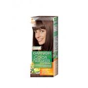 Vopsea de par permanenta cu amoniac Color Naturals 6.25 Castaniu, 110 ml