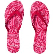 Franco Leone Women's Red Flip-Flops and House Slippers - 4 UK/India (37 EU)