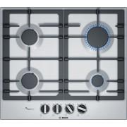 Bosch Serie 6 PCP6A5B90 Ingebouwd Gaskookplaat Zwart, Roestvrijstaal kookplaat