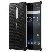 Nokia 5 Carbon Fibre Design Cover CC-803 - Zwart