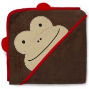 Детское полотенце с капюшоном Skip Hop Zoo Towel Monkey обезьянка