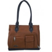 FD Fashion Soft Messenger Bag(Brown, Blue)