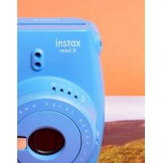 Fujifilm Instax Mini 9 Instant Camera Cobalt Blue - Multi