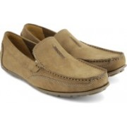 Clarks Benero Race Loafers For Men(Brown)