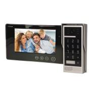 """Domovní bezsluchátkový videotelefon pro 1 byt ORNO CRUX 7"""" bílý OR-VID-VP-1049/W"""