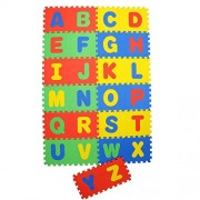 """Sterling Bazaar Eva Puzzle Style Mat with English Alphabets Set of 26 Pcs 12"""" X 12"""""""