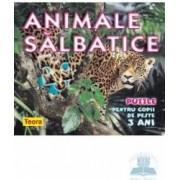 Animale salbatice puzzle - Pentru copii de peste 3 ani
