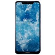 "Telefon Mobil Nokia 8.1, Procesor Octa-Core 2.2 / 1.7GHz, IPS LCD Capacitive touchscreen 6.18"", 4GB RAM, 64GB Flash, Dual 12+13MP, Wi-Fi, 4G, Dual Sim, Android (Albastru) + Cartela SIM Orange PrePay, 6 euro credit, 6 GB internet 4G, 2,000 minute nationale"