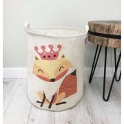 Container - Tas - Wasmand - Speelgoed mand - Vos