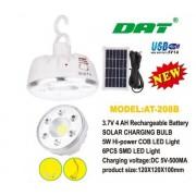 Лампа светодиодная с зарядкой для телефона DAT AT-208B