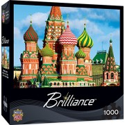 MasterPieces Brilliance St. Basil's Cathedral 1000 Piece Jigsaw Puzzle