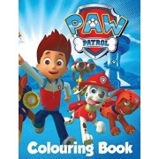 Paw Patrol Colouring Book: In the 60 Page A4 Size Colouring Book for Children We Have Put Together a Fantastic Collection of Characters from Paw, Paperback/L. P. F. Books