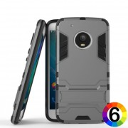 Motorola Moto G5 Plus Удароустойчив Калъф 2 и Протектор