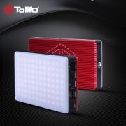 TOLIFO HF-96B LED 96 SMD Pocket-Sized Built-in battery CRI95 LED Photo Light for Phone Vlog Youtube - Lampa bi-colora cu acumulator intern