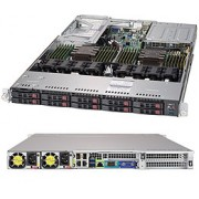 Supermicro Server system SYS-1029U-TRTP2 - complete system only