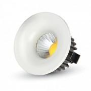V-TAC Faretto Downlight LED da Incasso 3W COB Rotondo