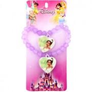 Lora Beauty Disney Tiana Colier pentru fete 2 buc