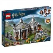Конструктор Лего Хари Потър - Колибата на Hagrid: Спасението на Buckbeak, LEGO Harry Potter, 75947