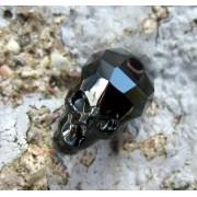 Swarovski crystals Skull Bead (5750) - Jet, 13 mm, 1 styck