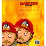 Uitgeverij Libre brandweer maskers, 10 stuks