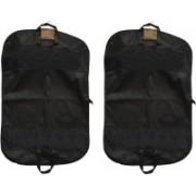PRAHAN INTERNATIONAL Men's Coat Blazar Cover Bag Suit cover Pack of2 PIS-C2B015(Black)