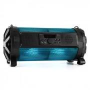 Auna Thunderstorm S mobil Bluetooth-högtalare 60 W max. batteri USB SD FM LED