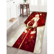 Rosegal Tapis de Sol Père Noël Imprimé Largeur 16 x Longueur 47 pouces