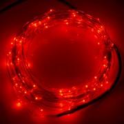 10m 12V 6W LED Cadena De Luz Ahorro De Energia Smd-0603 Alambre De Plateado Festival Lámpara / Luz De La Decoracion Tiras, Luz Roja