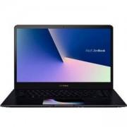 Лаптоп Asus Zenbook PRO15 UX580GD-BO058R, ScreenPad, Intel Core i7-8750H, 15.6 инча FHD IPS 1920x1080, RGB, 8GB DDR, Син, 90NB0I73-M01620