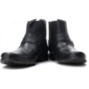 Clarks Goto Zip Boots For Men(Black)
