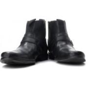 Clarks Goto Zip Boots For Men(Black)