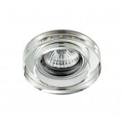 LED Lampă încastrată ELEGANT DOUBLE LIGHT GU10/50W+LED/3W rotund