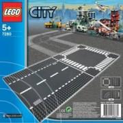 Set Constructie Lego City Set Constructie Sosele Drepte