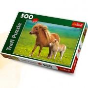 Trefl Puzzle Slagalica Ponies On A Meadow 500 kom (37144)