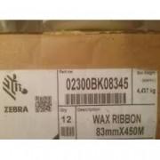 Zebra ribbon cera 02300 83x450 box 12