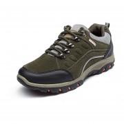 Zapatos Deportivos Hombre Al Aire Libre Alpinismo Zapatos Para Caminar/ Correr -Verde Del Ejército
