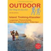 Perre, Erik Van De Island: Trekking-Klassiker: Laugavegur, Fimmvruháls, Kjalvegur, Jkulsárgljúfur, skjuvegur
